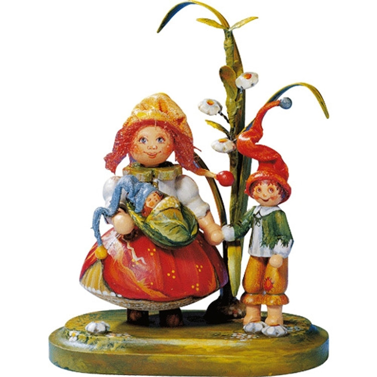Mother Elf with Children