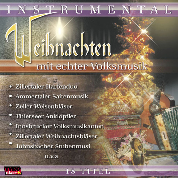 Christmas with Folk Music, Music CD