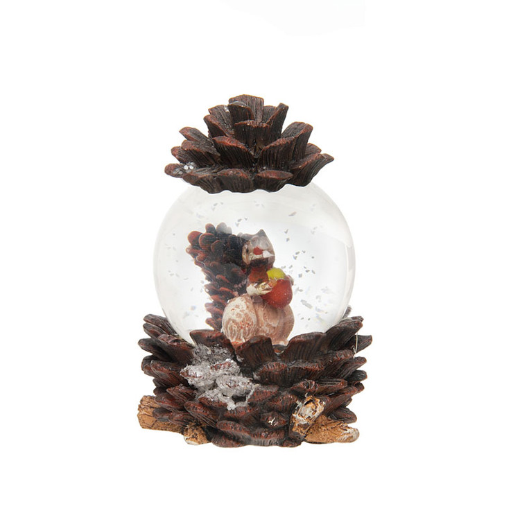 Squirrel Snow Globe