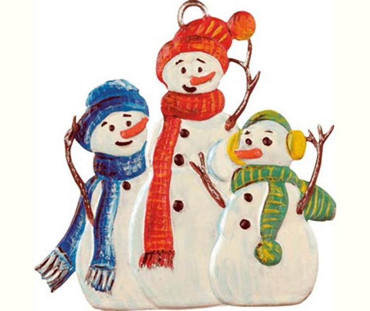 Snowmen Trio
