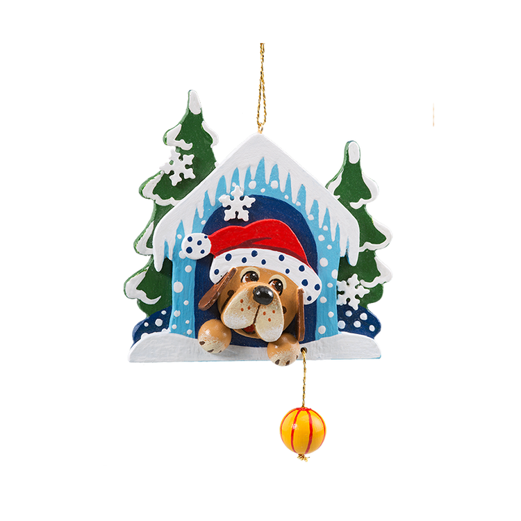 Winter Bello's Christmas Wood Ornament