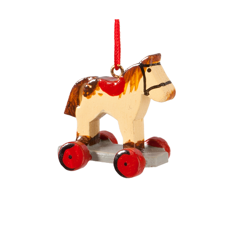 Toy Horse on Wheels