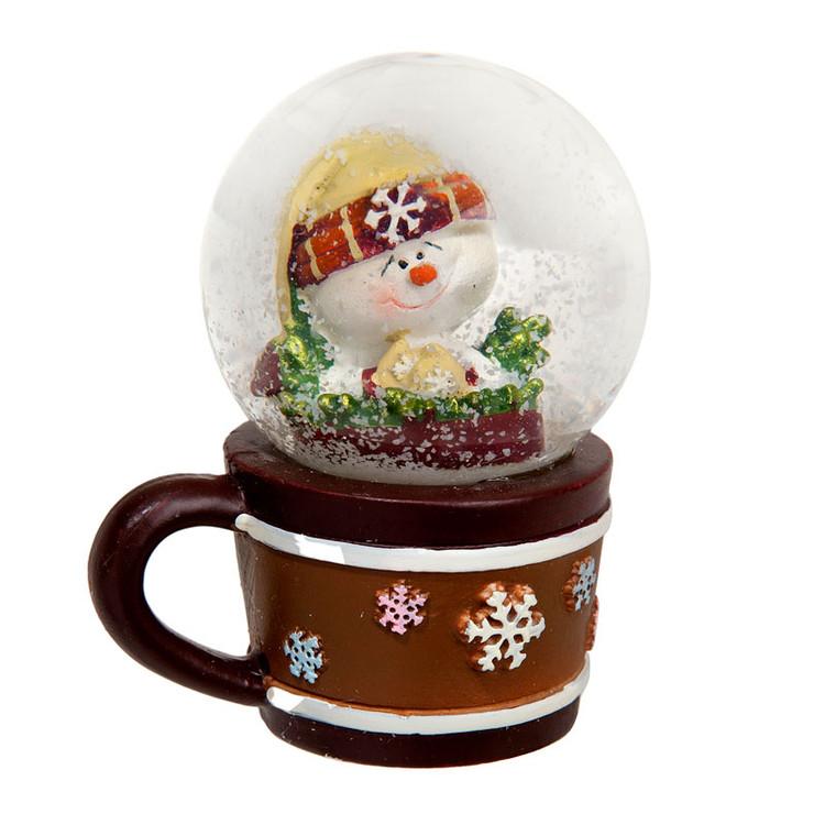 Snowman Cup Snow Globe