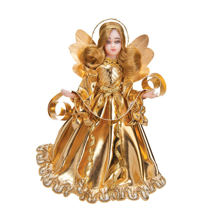 Choir Angel in Gold Gown