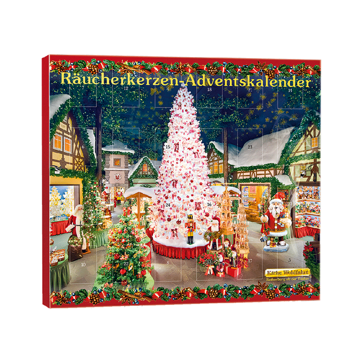 Christmas Village Incense Calendar