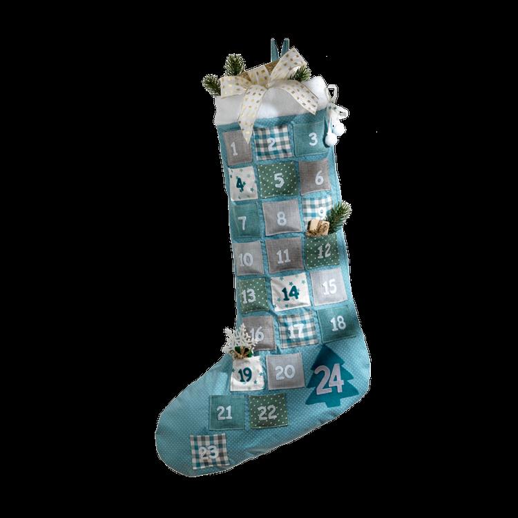 Fabric Advent Calendar Stocking