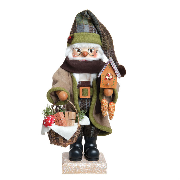 Santa with Forest Friends Nutcracker