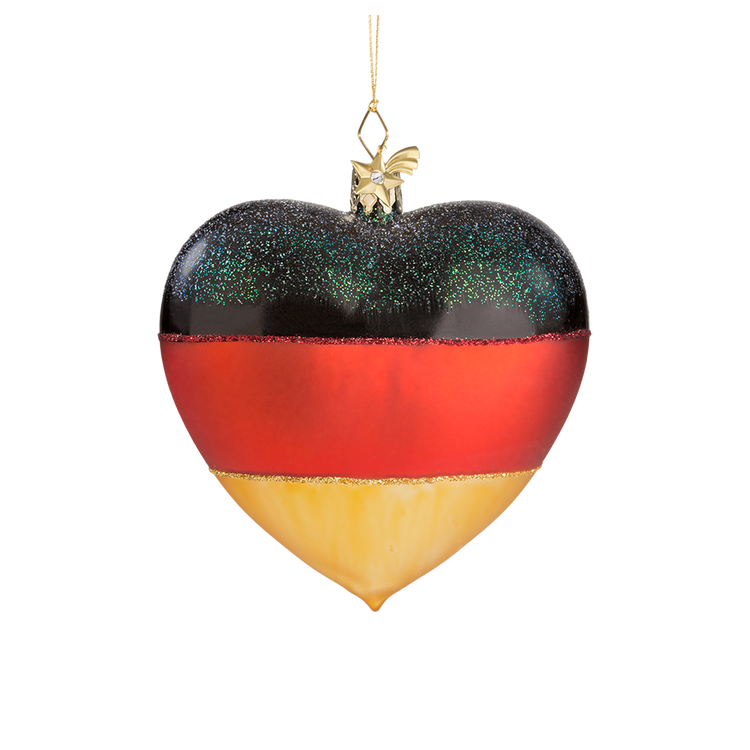 Heart German Flag