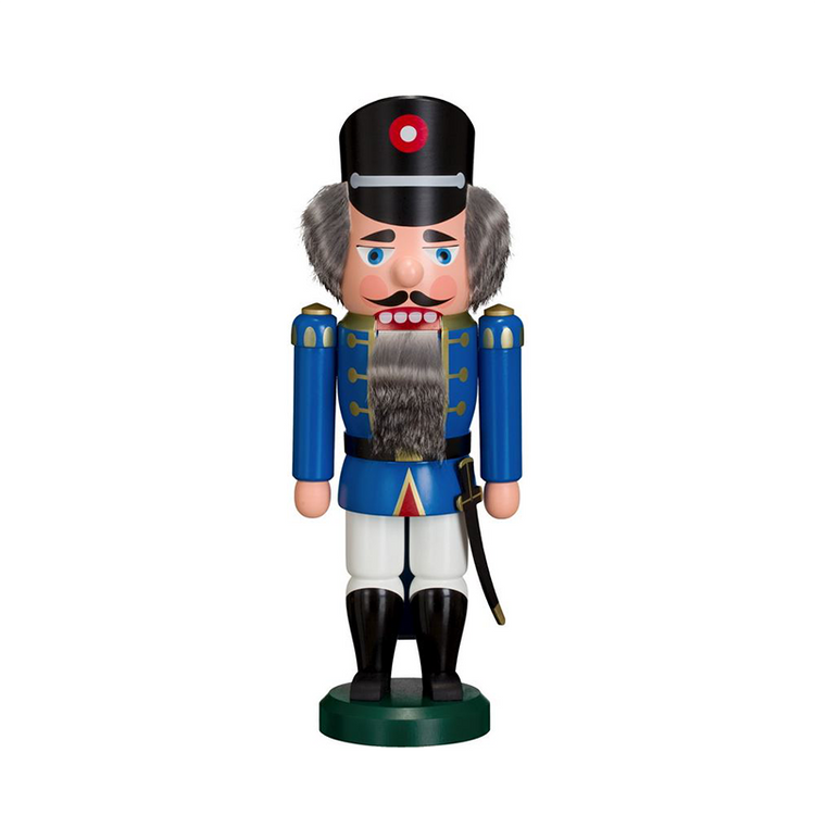 Nutcracker Soldier in Blue and White