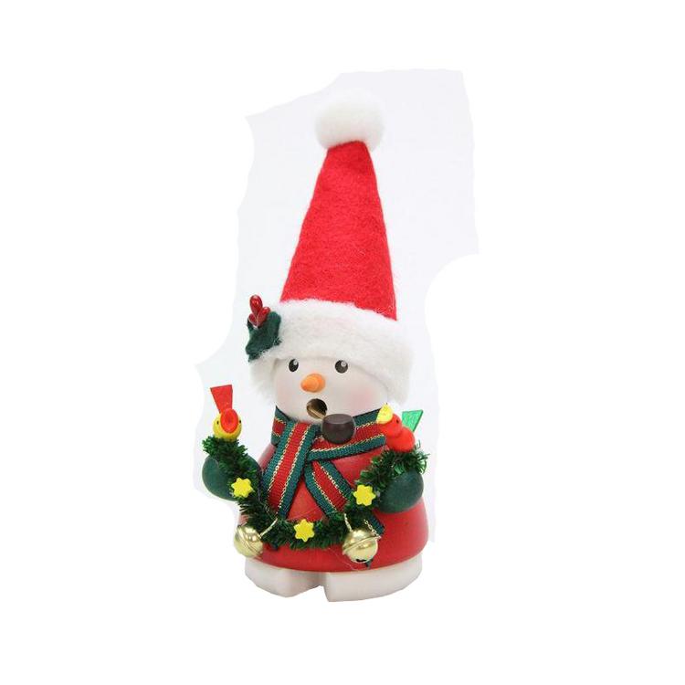 Snowman Santa with Bells