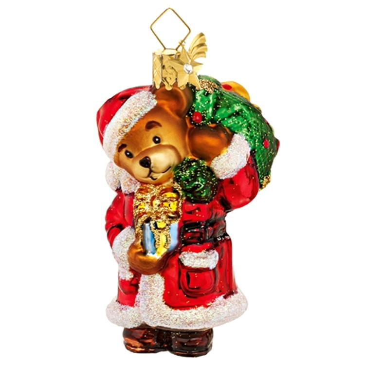 Teddy Bear Santa