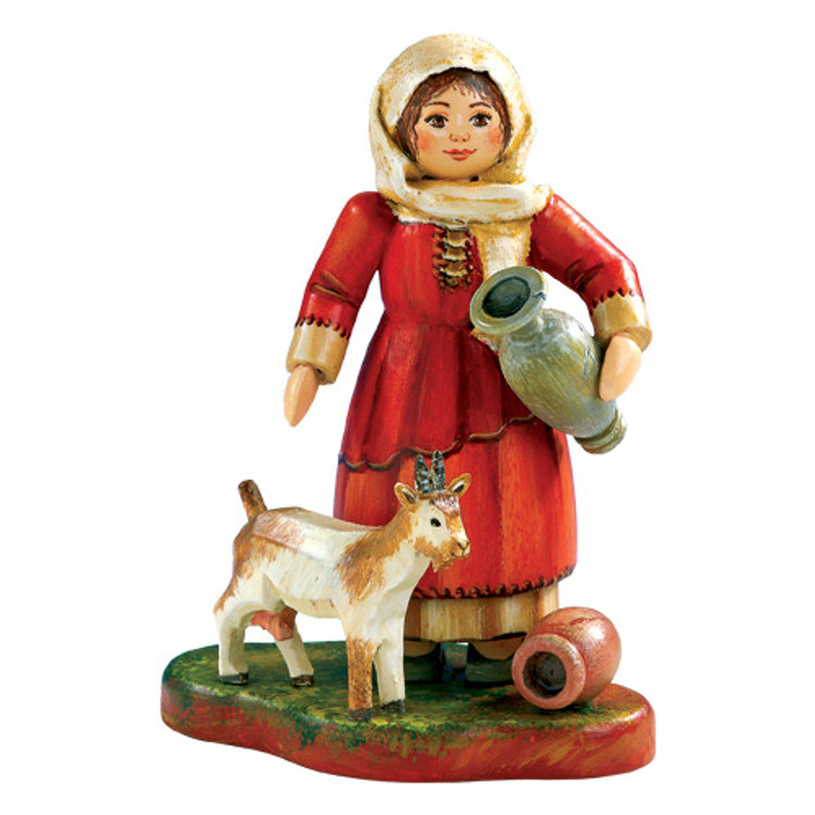 Maid with Goat