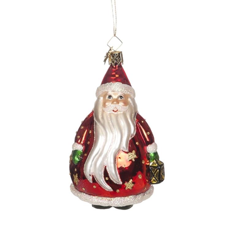 Santa Carrying Lantern