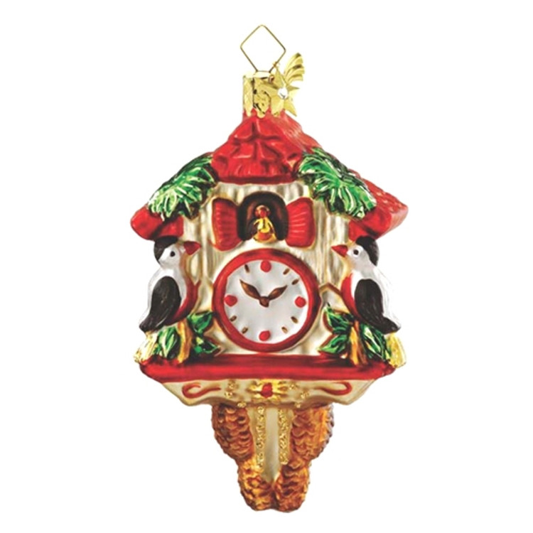 Cuckoo Clock Red