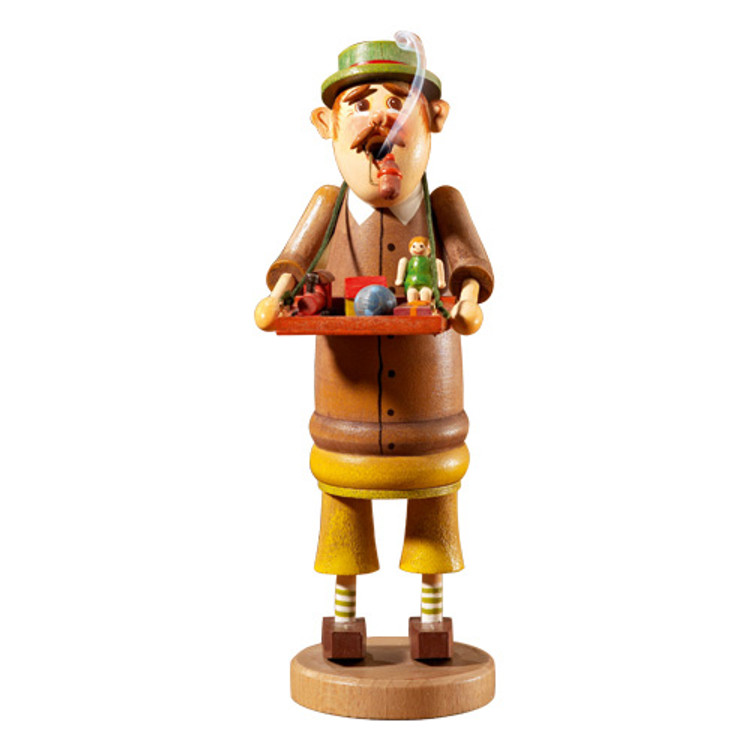 Toy Peddler with Green Hat