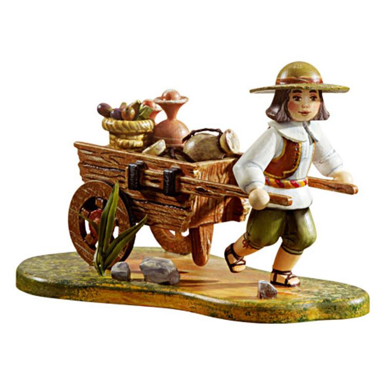 Farmer with Cart