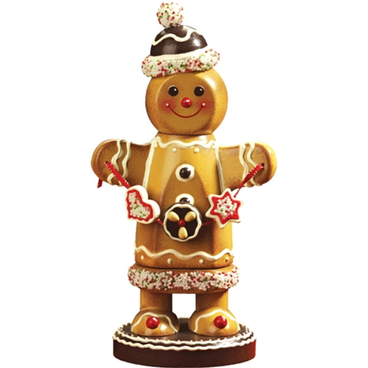 Gingerbread Man with Treats