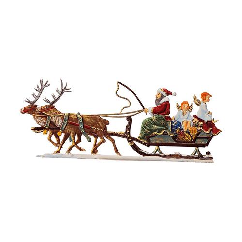 christmas delivery pewter ornament. Black Bedroom Furniture Sets. Home Design Ideas