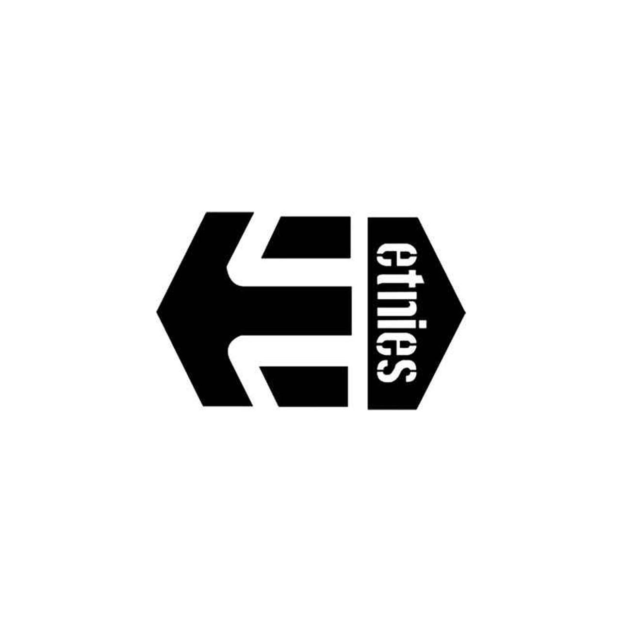 corporate logo s etnies style 1 vinyl sticker