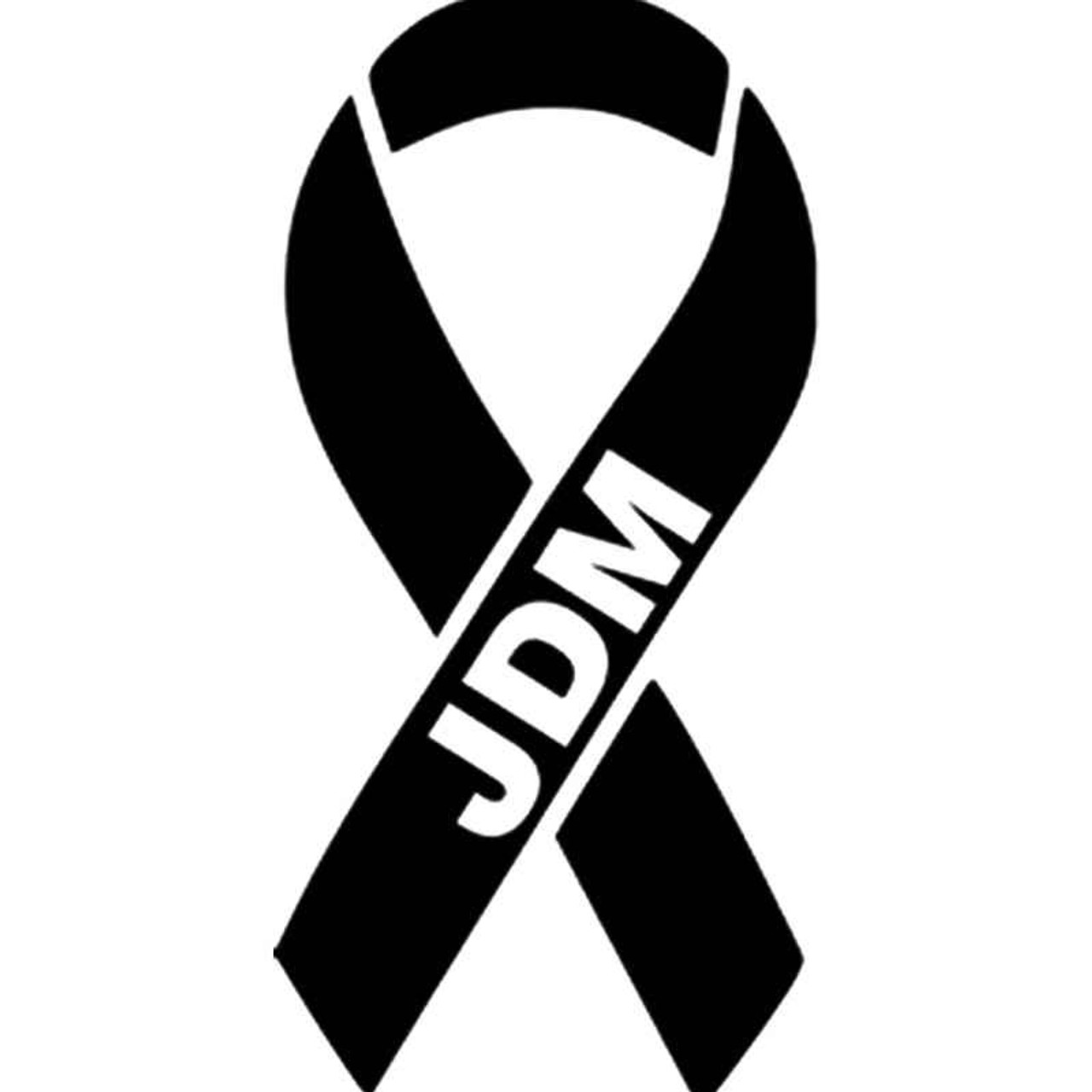 Jdm S Breast Cancer Ribbon Jdm Vinyl Sticker