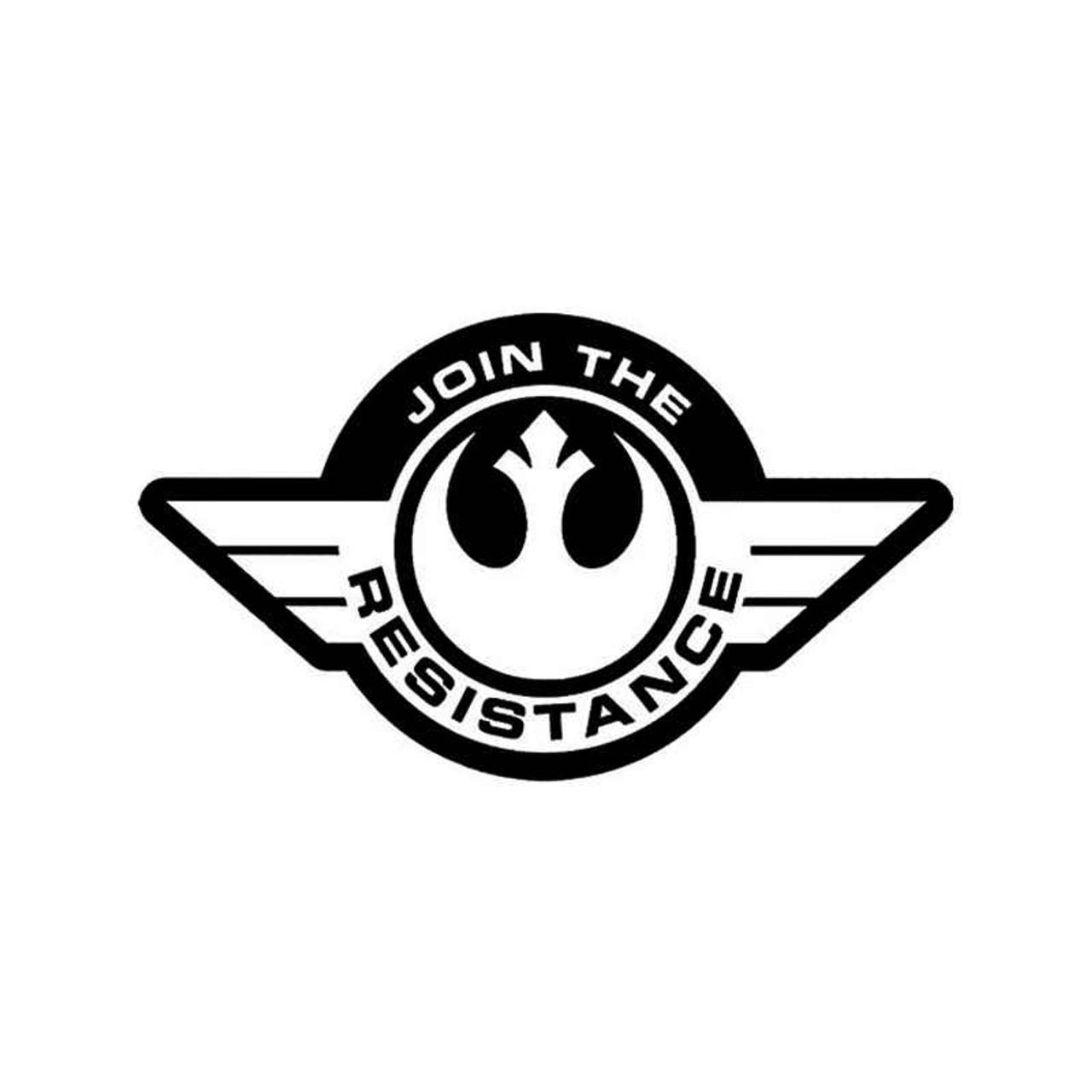 Star Wars Resistance Symbol Logo For Vinyl Sticker