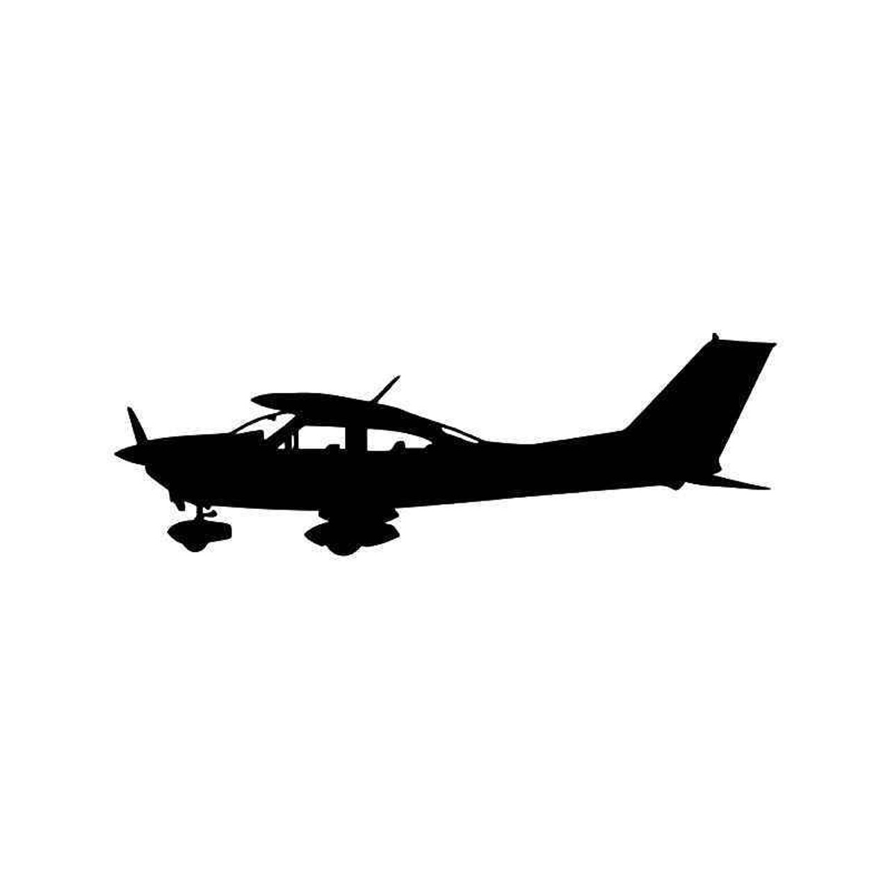 Cessna Plane Pilot 2 Vinyl Sticker