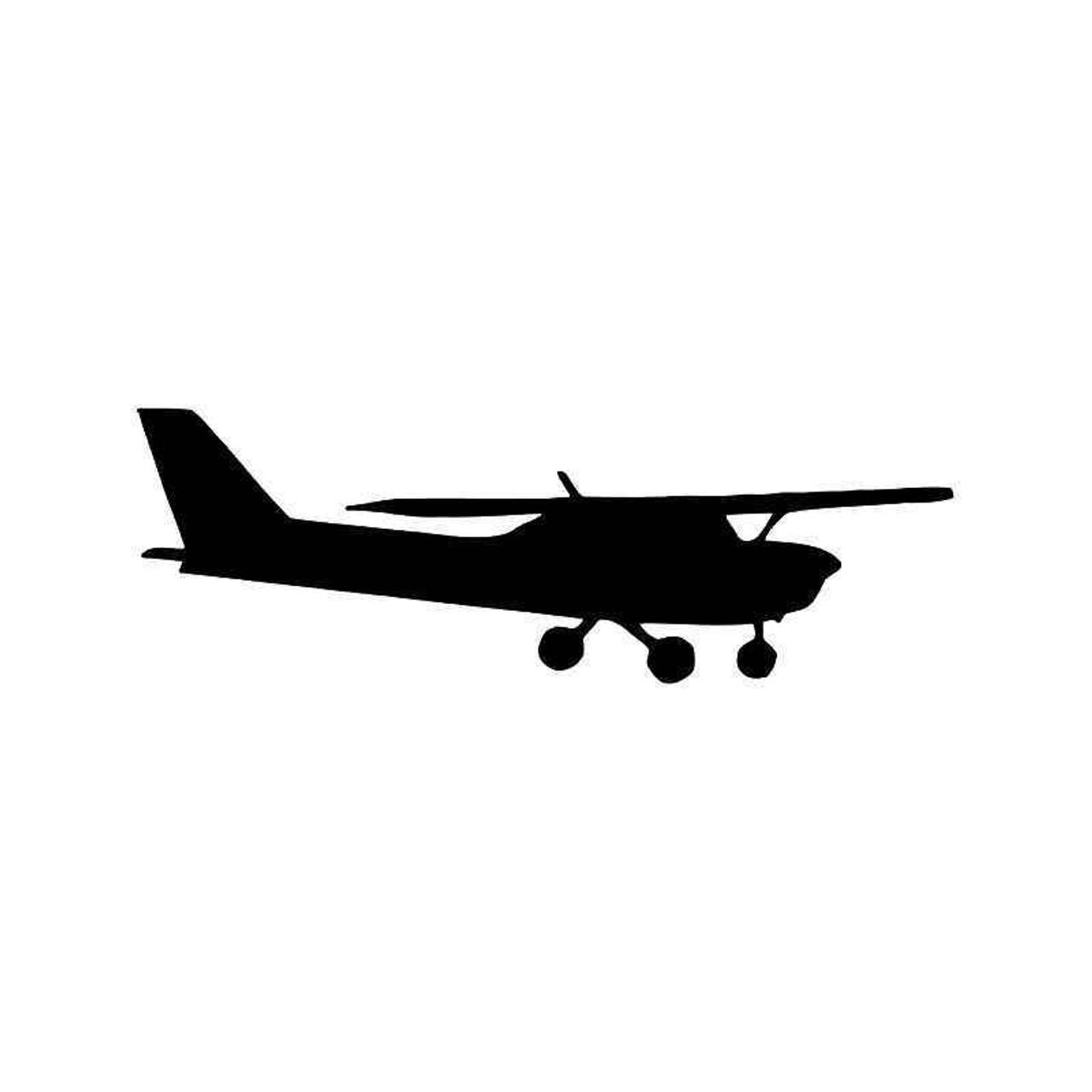 Cessna Plane Pilot 3 Vinyl Sticker