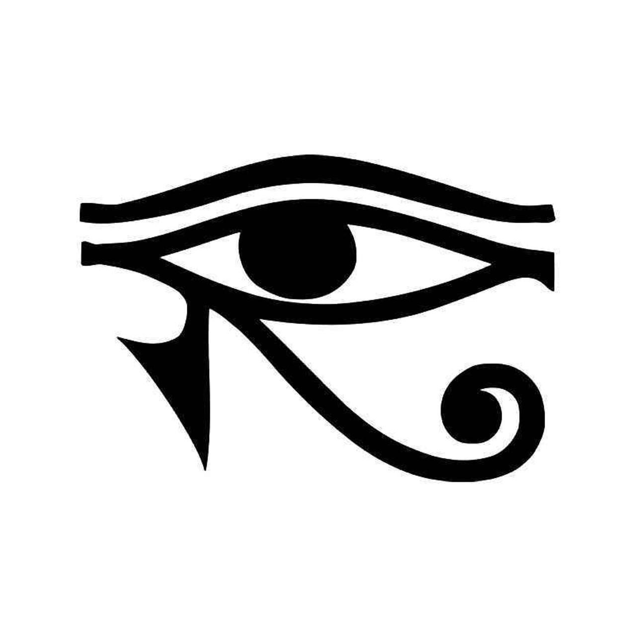Eye Of Horus Egyptian Pagan Symbol Vinyl Sticker