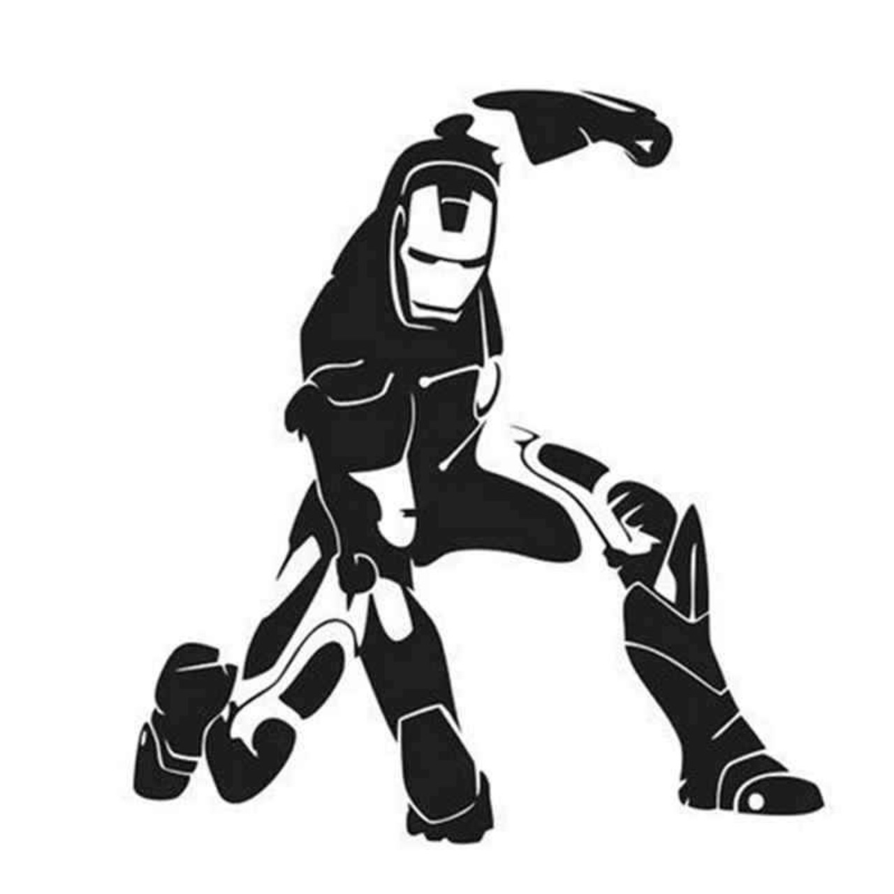 Ironman 606 vinyl sticker