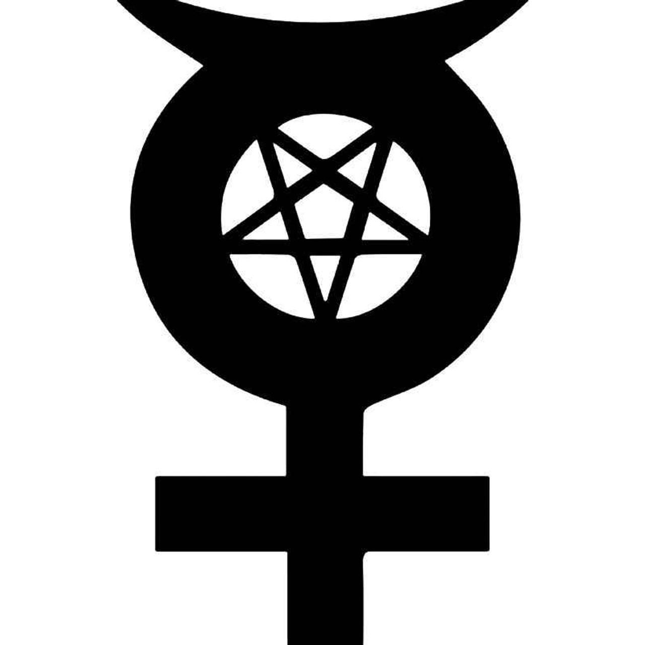 Satan Symbol Satanic Vinyl Sticker