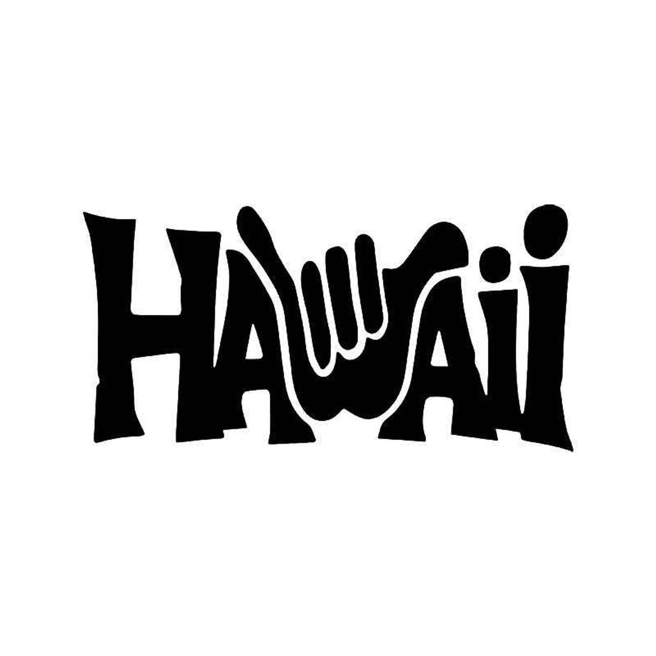 Shaka Hand Hawaii Vinyl Sticker