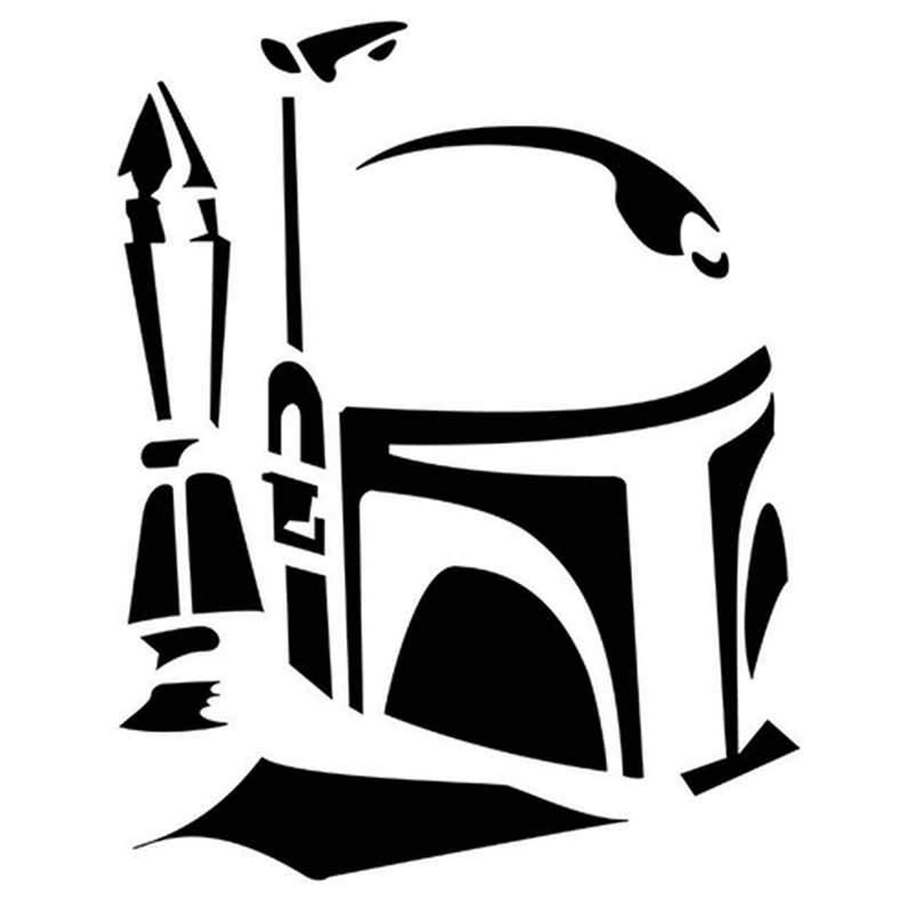 Star Wars Boba Fett 323 Vinyl Sticker
