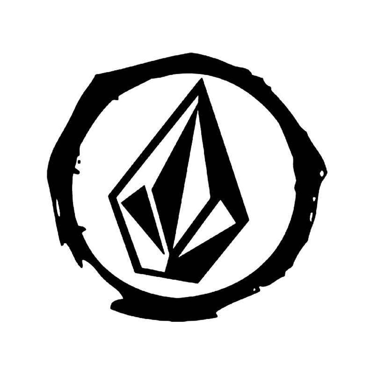 volcom diamond logo 4 vinyl sticker rh blipfuzz com