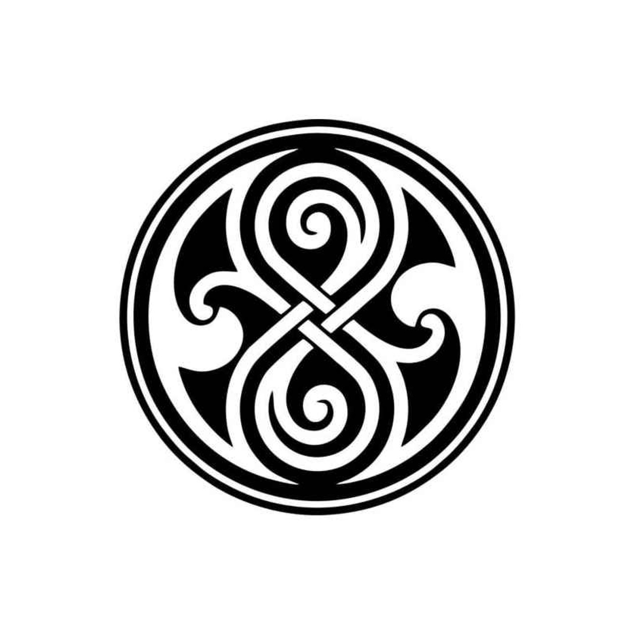 Doctor Who Time Lord Symbol Decal