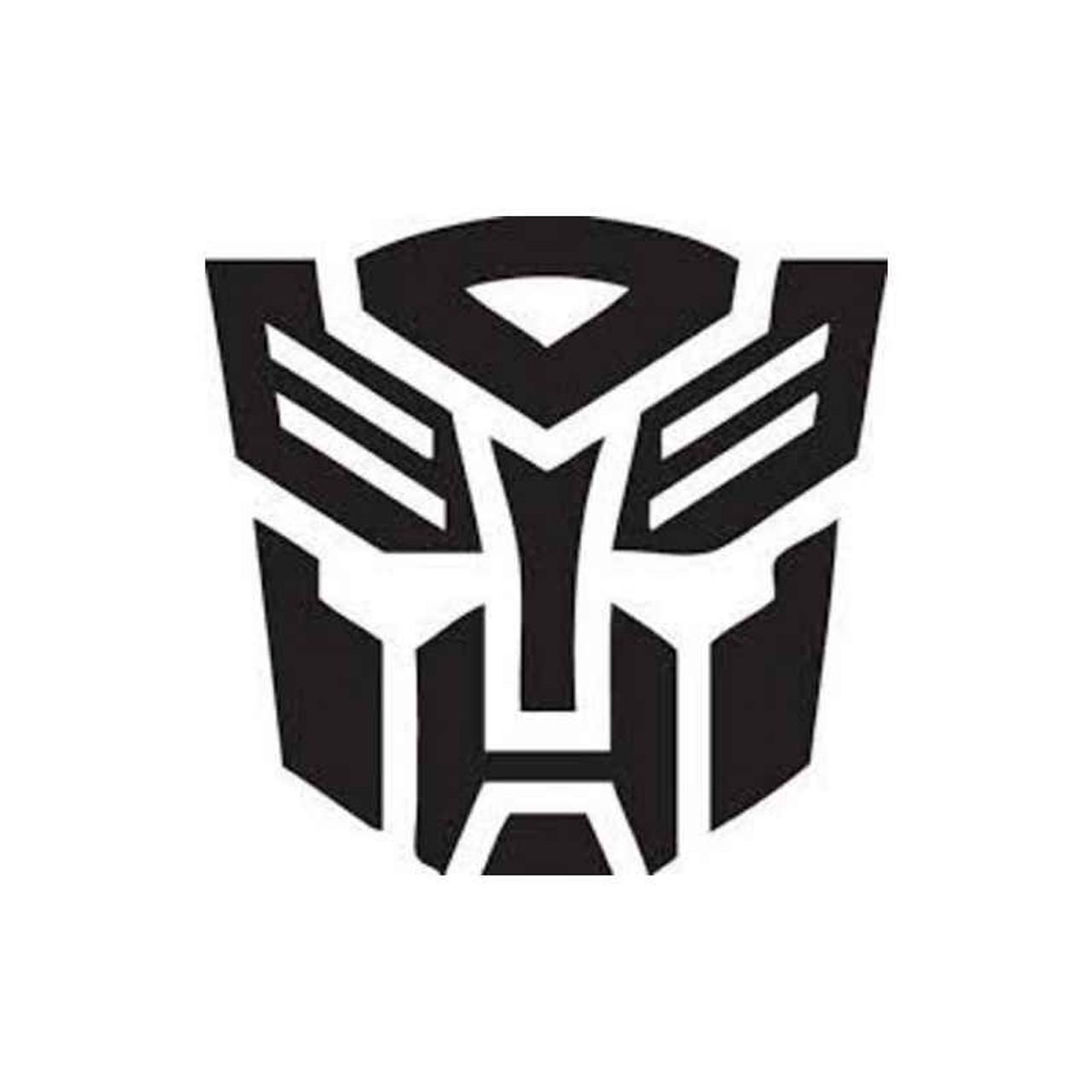 Transformers Autobots Bumblebee Logo Decal