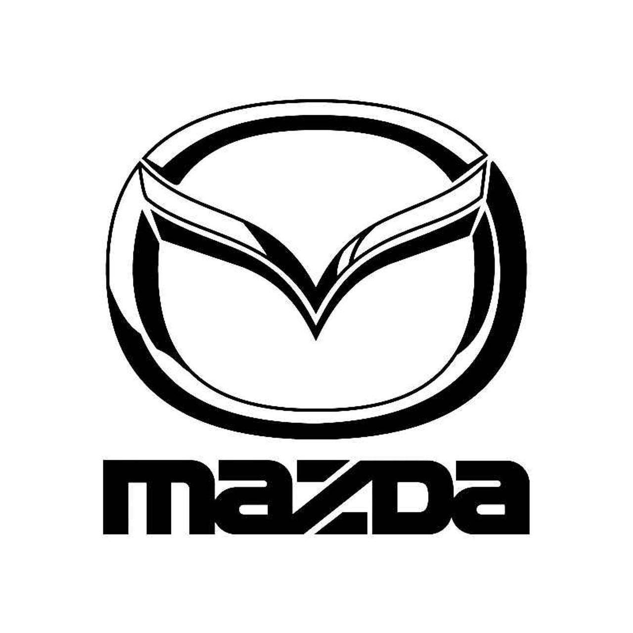 Mazda Logo Logo Jdm Decal