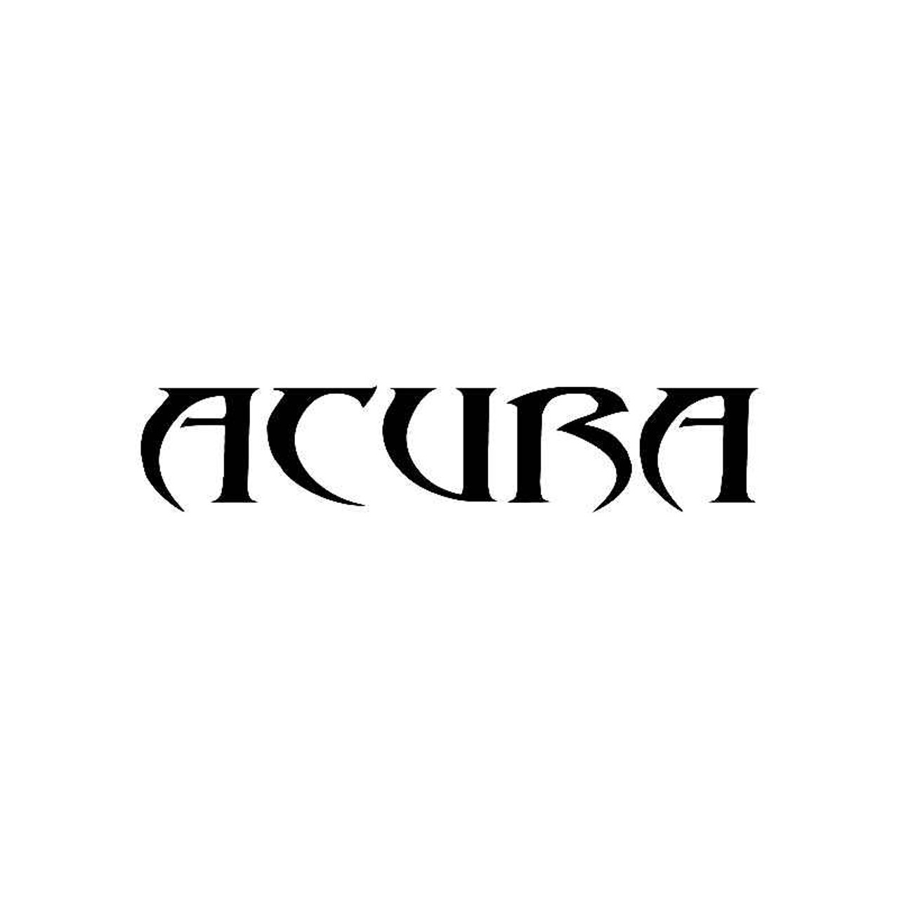 Tribal Acura Logo Jdm Decal - Acura decals
