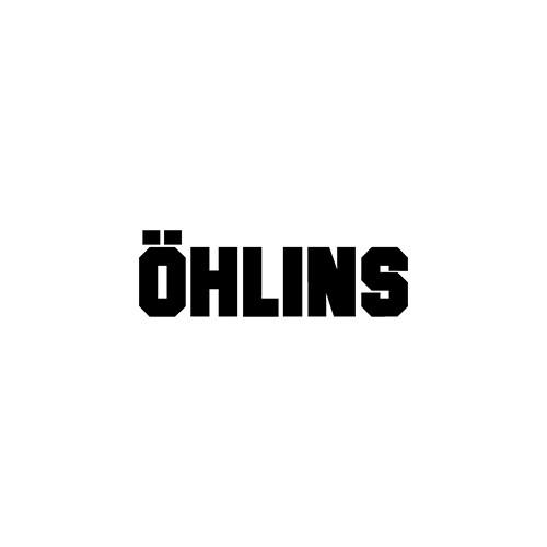 Ohlins solid aftermarket decal
