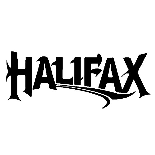 Our halifax vinyl decal sticker is offered in many color and size options