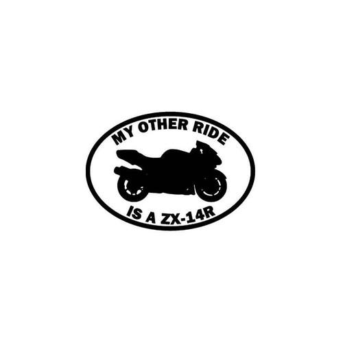 Motorcycle s Ride Kawasaki Ninja Zx 14r Motorcycle Vinyl