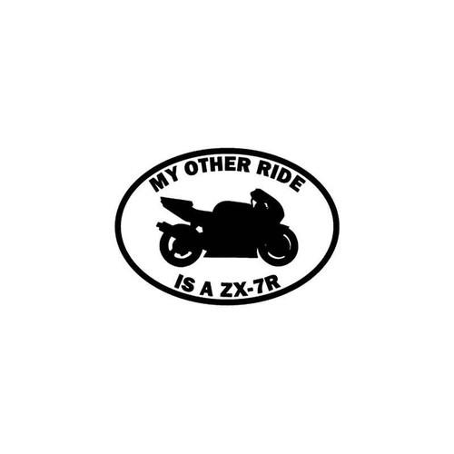 Motorcycle s Ride Kawasaki Ninja Zx 7r Motorcycle Vinyl