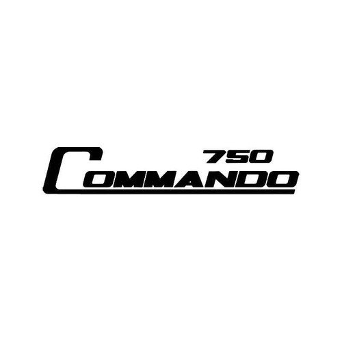 Norton 750 Commando Vinyl Sticker