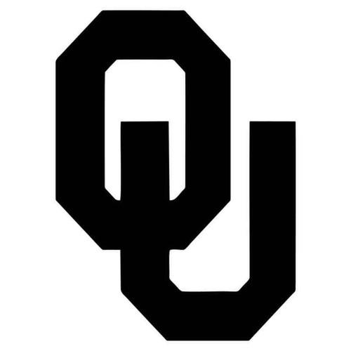 Oklahoma Sooners 2013 Vinyl Sticker
