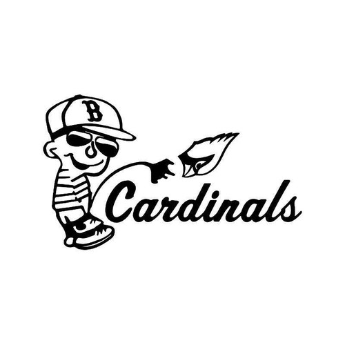Cardinals pissing on pittsburgh