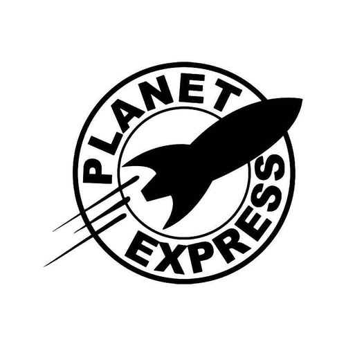 Planet express futurama vinyl sticker