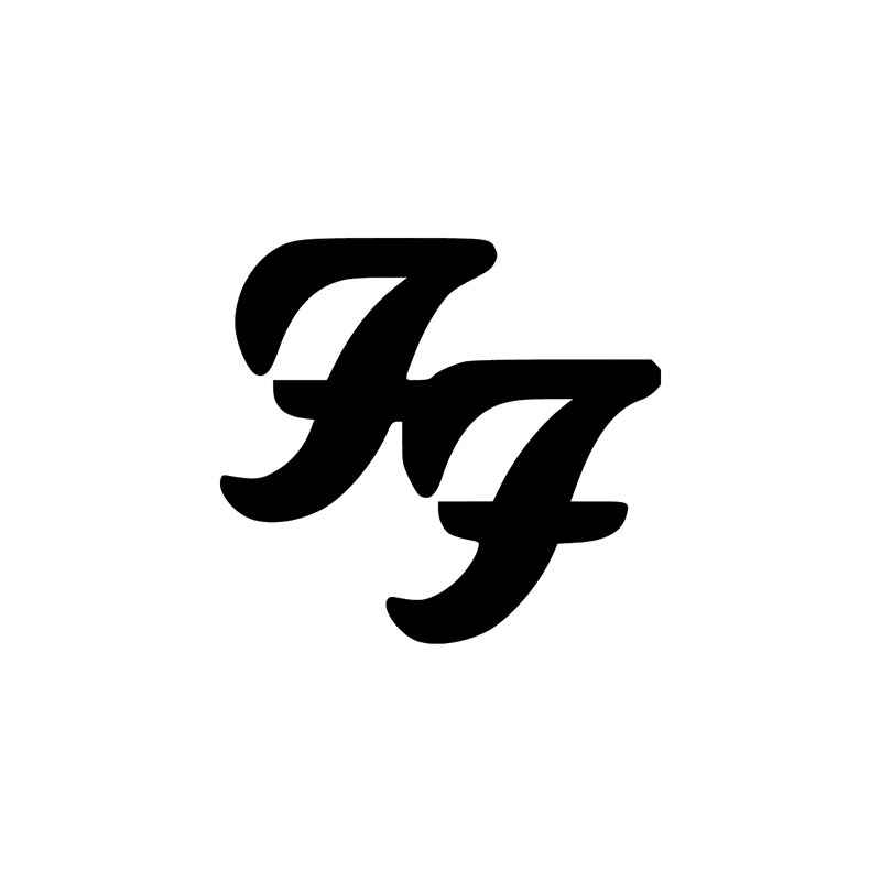 Rock Band S Foo Fighters Style 1 Vinyl Sticker