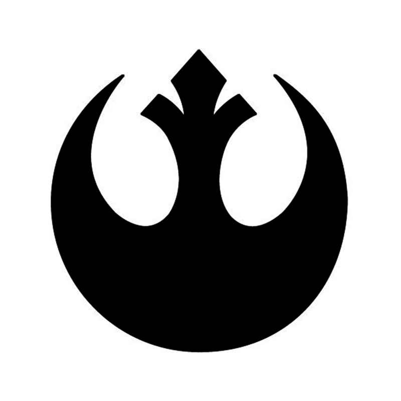 Star wars rebel alliance symbol for vinyl sticker