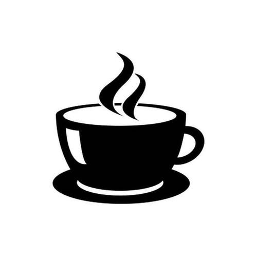 Coffee cup 1732 vinyl sticker