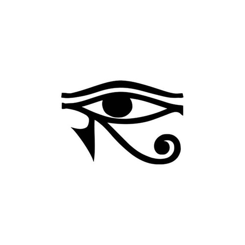 Eye Of Horus Egyptian Vinyl Sticker