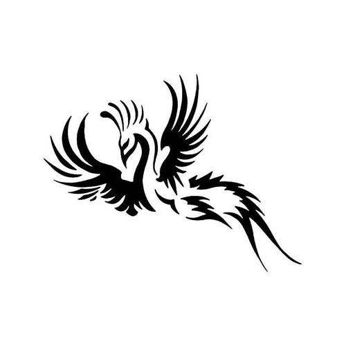phoenix bird vinyl sticker